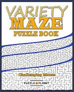Variety Maze Puzzle Book