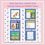 Little Cute Pony Activity Book