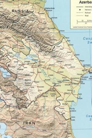 Bog, paperback A National Map of Azerbaijan af Unique Journal