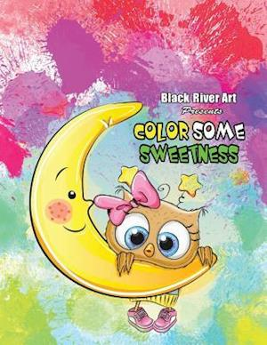 Bog, paperback Color Some Sweetness Grayscale Coloring Book af Karlon Douglas