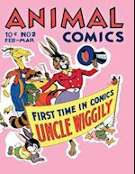 Animal Comics # 2 af Dell Publishing Company