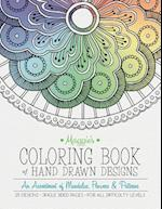 Maggie's Coloring Book of Hand Drawn Designs