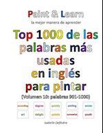 Top 1000 de Las Palabras Mas Usadas En Ingles (Volumen 10