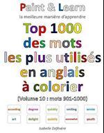 Top 1000 Des Mots Les Plus Utilises En Anglais (Volume 10