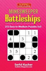 Minesweeper Battleships - 252 Easy to Medium Puzzles 5x5
