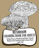 Mushroom Coloring Book for Adults
