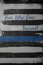 Thin Blue Line Journal af Dark Road Designs