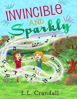 Bog, paperback Invincible and Sparkly af L. L. Crandall