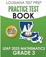 Louisiana Test Prep Practice Test Book Leap 2025 Mathematics Grade 3