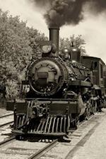 Old Locomotive in Sepia Journal