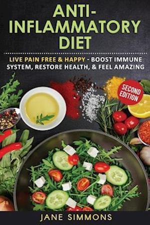 Bog, paperback Anti-Inflammatory Diet af Jane Simmons