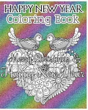 Happy New Year Coloring Book