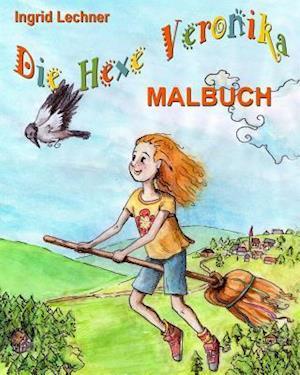 Bog, paperback Die Hexe Veronika - Malbuch af Ingrid Lechner