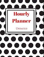 Undated Hourly Planner (Polka Dot)