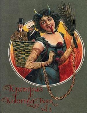 Bog, paperback Krampus Koloring (Coloring) Book Vol 2 af Jordan R. Colton