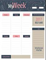 2017 Weekly Planner