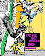 Epic Fox Adult Coloring Book