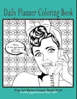 Daily Planner Coloring Book