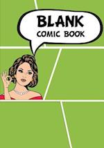 Blank Comic Book - Staggerd 7x10, 6 Panel and 100 Pages - Comic Book Template, Create by Yourself, Make Your Own Comics Come to Life, for Drawing Your