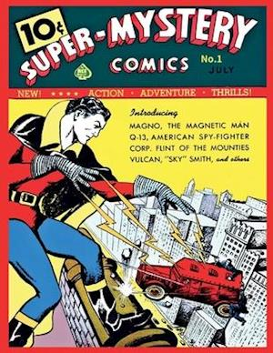 Bog, paperback Super Mystery Comics #1 af Ace Magazines