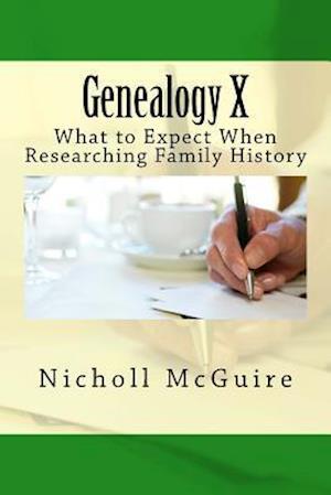 Bog, paperback Genealogy X af Nicholl McGuire