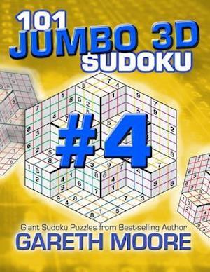 Bog, paperback 101 Jumbo 3D Sudoku Volume 4 af Gareth Moore