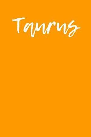 Bog, paperback Taurus af Passion Imagination Journals