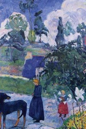 """""""Among the Lillies"""" by Paul Gauguin - 1893"""