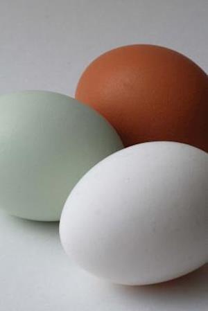 Bog, paperback Araucana Egg Vs Brown White Chicken Eggs af Unique Journal