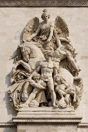 Bog, paperback ARC de Triomphe Relief in Paris, France af Unique Journal