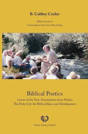 Bog, paperback Biblical Poetics af B. Cobbey Crisler