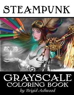 Bog, paperback Steampunk Grayscale Coloring Book af Brigid Ashwood