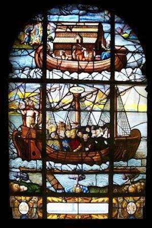 Bog, paperback Noah's Ark-Saint Etienne Du Mont in Stained Glass af Unique Journal