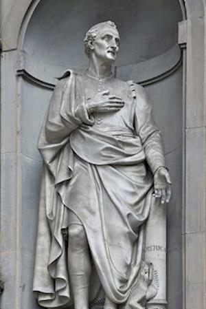 Bog, paperback A Statue of Amerigo Vespucci in Florence, Italy af Unique Journal