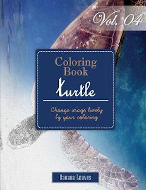 Bog, paperback Turtle Ocean Creature af Banana Leaves