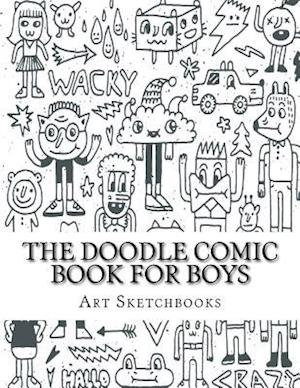Bog, paperback The Doodle Comic Book for Boys af Art Journaling Sketchbooks