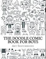 The Doodle Comic Book for Boys af Art Journaling Sketchbooks
