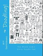 The Blank Comic Strip Doodle Pad