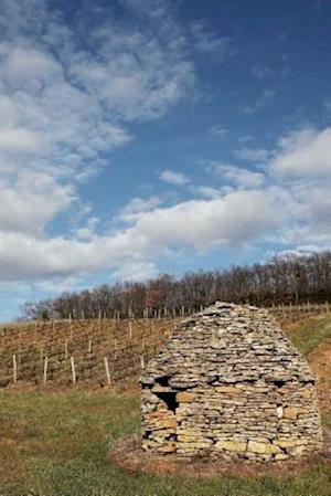 A Stone Hut in a Vineyard in Beaujolais France