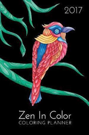 Bog, paperback Zen in Color 2017 Coloring Planner af Jessica McGrath