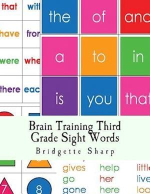 Bog, paperback Brain Training Third Grade Sight Words af Bridgette Sharp