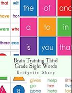Brain Training Third Grade Sight Words