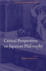 Critical Perspectives on Japanese Philosophy