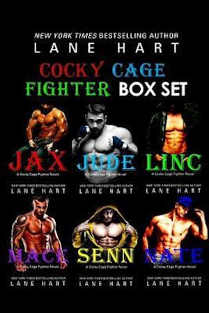 Bog, paperback The Cocky Cage Fighter Six Book Box Set af Lane Hart