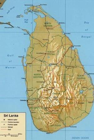 Bog, paperback Sri Lanka Relief Map af Unique Journal