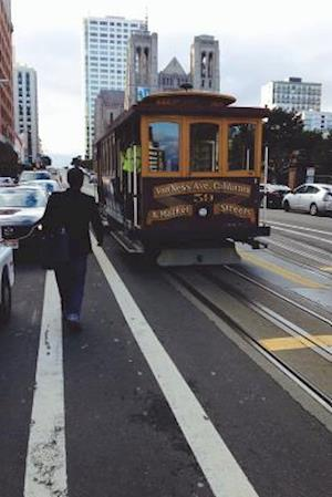 Bog, paperback Cable Car in San Francisco California Journal af Cool Image