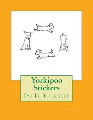 Bog, paperback Yorkipoo Stickers af Gail Forsyth