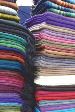 Bog, paperback Colorful Blankets in South America Journal af Cool Image