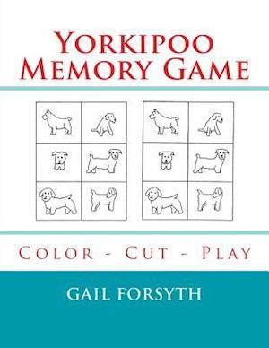 Bog, paperback Yorkipoo Memory Game af Gail Forsyth