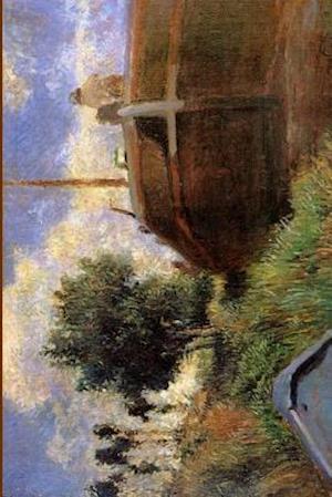 """Blue Barge"" by Paul Gauguin - 1882"